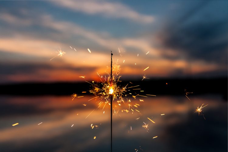 fireworks thank you and goodbye 2018